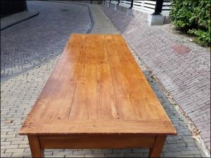 Eettafel kersenhout 2,35m